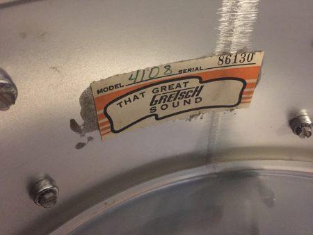 Gretsch SSB 5x14 Aluminum