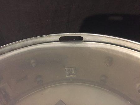 Gretsch Chrome Round Badge 5x14