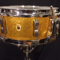 Ludwig 1962 Gold Sparkle Classic Snare Drum