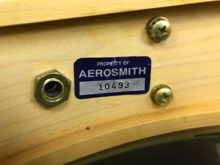 Joey Kramer's Aerosmith DW 14x14 Maple Snare Drum,