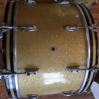 1940 WFL Ludwig Silver Sparkle 24, 13,16