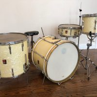 Pete best Premier Drum set White Marine Pearl Beatles