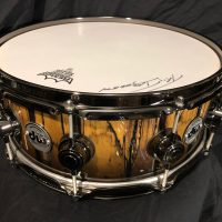Tris Imoden's Chicago, DW 14x5 Ebony and Ivory
