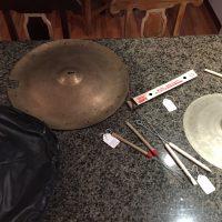 """Dizzy Gillespie 22"""" Zildjian Swish cymbal"""