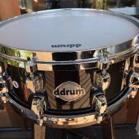 Drum Black Lacquer Cast Hoops Black Lacquer