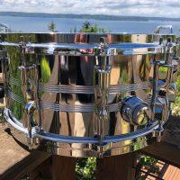 Kenny Aronoff Mellencamp Era Imperialstar steel snare