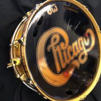 Gold Chicago logo head