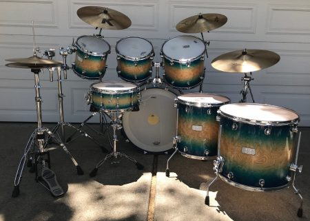 Ringo Starr Paul McCartney Mapex Gregg Bissonette drum Set