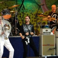 Ringo Starr Paul McCartney Mapex Gregg Bissonette drum Set