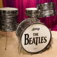 Ringo Starr beatle Ludwig Replica Drum Set