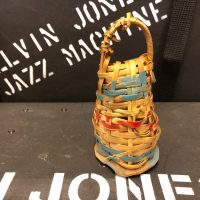 Elvin Jones's Small Wicker Shaker