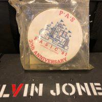"Elvin Jones's 1991 PASIC 6"" Souvenir Tambourine"