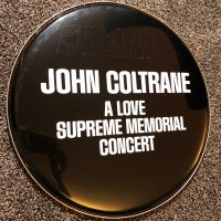 John Coltrane A Love Supreme bass Logo Head