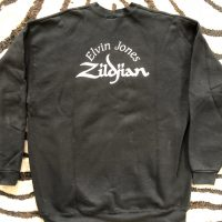 Elvin Jones Black Zildjian Sweatshirt
