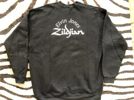 Elvin Jones Black Zildjian Sweatshirt