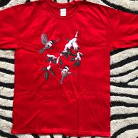 Elvin Jones Birds on Red T-shirt