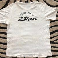 Elvin Jones's White Polo T-Shirt