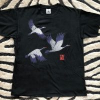 Elvin Jones's Black 3 Small Storks T-Shirt