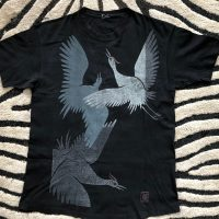 Elvin Jones's Black 3 large storks T-Shirt