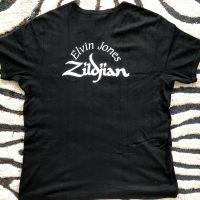 Elvin Jones's Black Polo T-Shirt