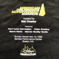 Elvin Jones's 1998 American Drummers Achievement Awards T-Shirt
