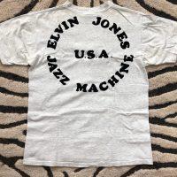 Elvin Jones's 1988 Elvin Coltrane grey T-Shirt