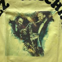 Elvin Jones's 1988 Elvin Coltrane yellow T-Shirt