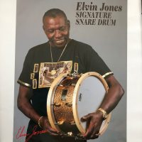 Elvin Jones Signature poster