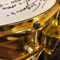 Tris imbodens Chicago DW Poplar Edge snare drum