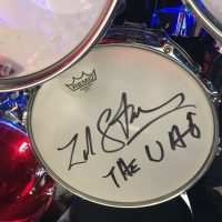 Zak Starkey, Who, DW, Zildjian