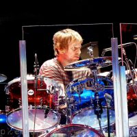 Zak Starkey 2012 The Who Quadrophenia DW Clear