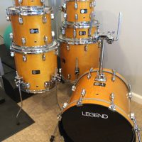 Walfredo De Los Reyes SR Legend Drum set