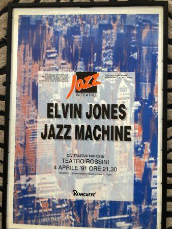 Elvin Jones Teatro Rossini Italy 1991