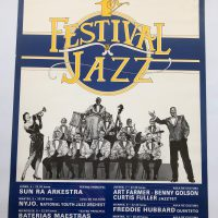 "14, Festival De Jazz '85, 27x20"""