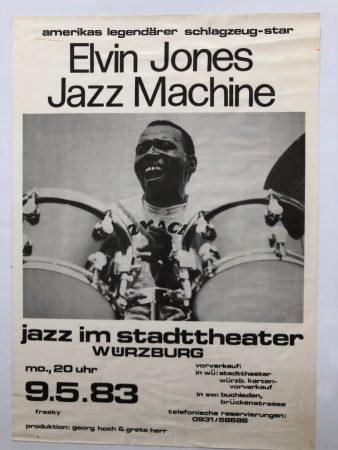 """73, Jazz Im Stadttheater '83, 23.5x16.5"""""""