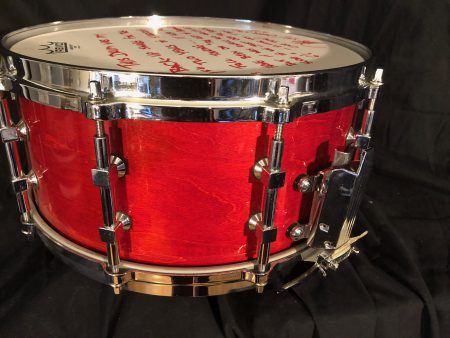 Jason Bittner Tama Artwood 14x6 Shadows fall