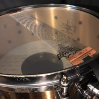 "Jason Bittners Shadows Fall Tama Warlord Collection Praetorian 6x14"" Cast Bell Brass Snare Drum"