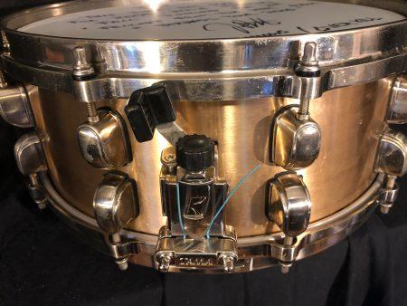 Jason Bittner's Shadows Fall Tama Starclassic Bell Brass Snare