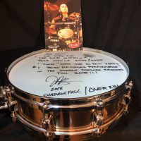 Jason Bittner Shadows Fall Brass Tama The War Within Snare Drum