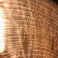 """Elvin Jones's original 1970s 14"""" K Zildjian Hi Hat Cymbals"""