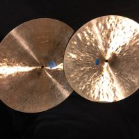 "Elvin Jones's original 1970s 14"" K Zildjian Hi Hat Cymbals"