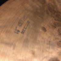 """Elvin Jones's NOS K Zildjian 1970s 18"""" Cymbal"""