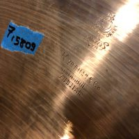"Elvin Jones's 1580g NOS 18"" Crash Cymbal"