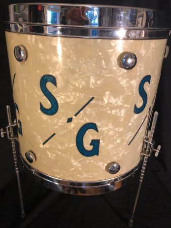 Sonny Greer's Leedy and Ludwig Knob Tension Floor Tom
