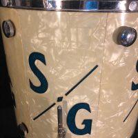 Sonny Greer's Leedy and Ludwig Knob Tension Floor Tom
