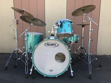 Ringo Starr All Starr Band 2012 Mapex drum set Gregg Bissonette