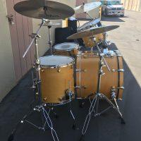 Gregg Bissonette's Mapex Blonde Orion Drum Set