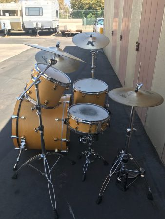 Gregg Bissonette's Mapex Blonde Orion Drum Set