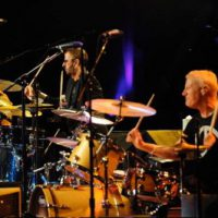 Gregg Bissonette and Ringo Starr