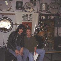 Donn and Marky Ramone